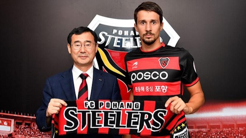 Nacional empresta médio Palocevic a clube sul-coreano