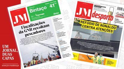 JM - Edição impressa: Fiscalizações da GNR revoltam pescadores - Desporto: Refúgio de Ronaldo centra atenções