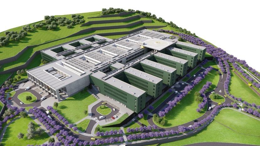 Região já tem 76% da totalidade dos terrenos para o novo hospital