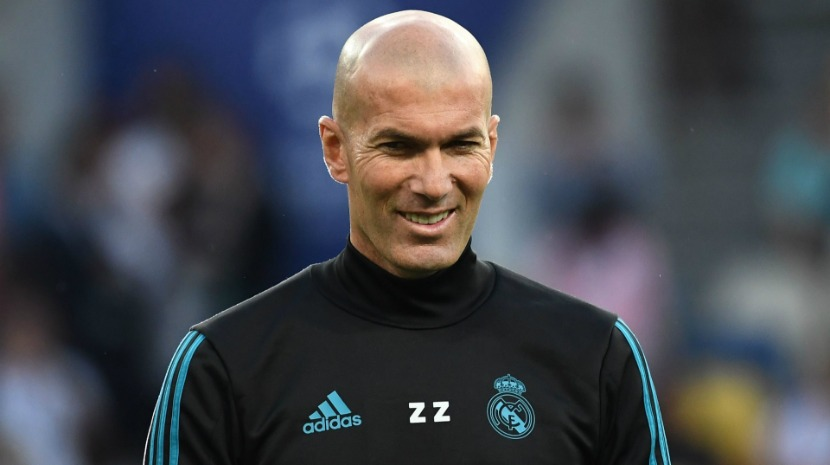 Zidane abandona estágio do Real Madrid