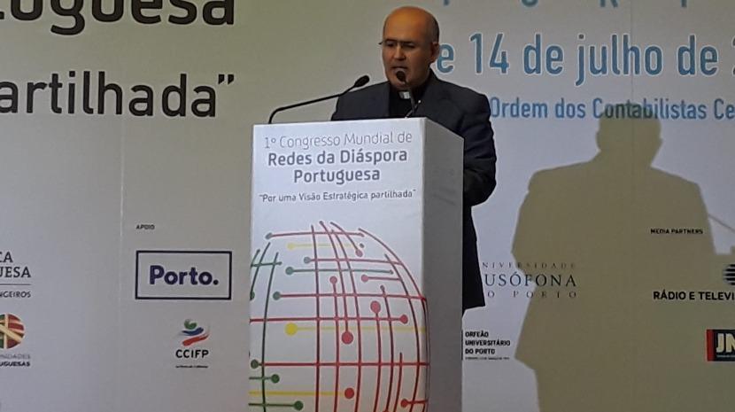 Tolentino Mendonça enaltece papel dos emigrantes portugueses