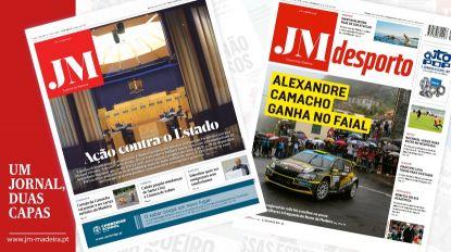 JM - Edição impressa: Ação contra o Estado - Desporto: Alexandre Camacho ganha no Faial