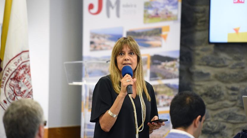 """Jornadas 2019: Madalena Nunes diz que trabalho da CMF tem sido """"alvo de reconhecimento lá fora"""""""