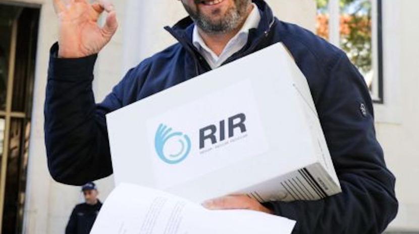 Partido RIR apresenta candidatura