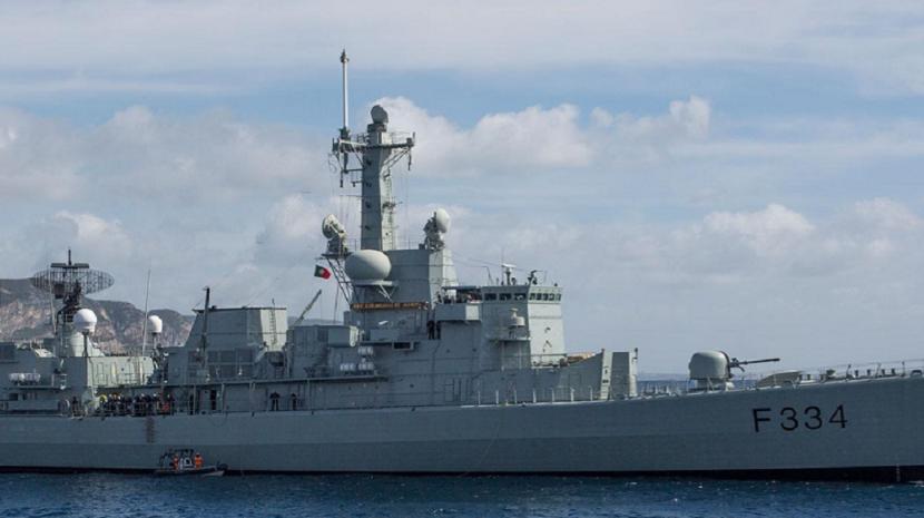 """Fragata """"D. Francisco de Almeida"""" parte esta quinta-feira para missão da NATO no Atlântico e Mediterrâneo"""