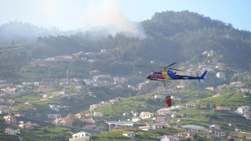 Combate às chamas no Castelejo durou até à 1 hora da manhã