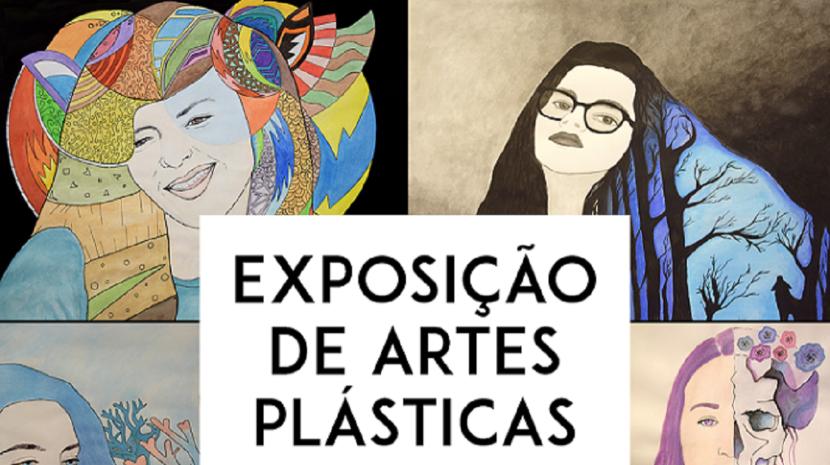 Alunos de São Vicente expõem trabalhos de artes plásticas