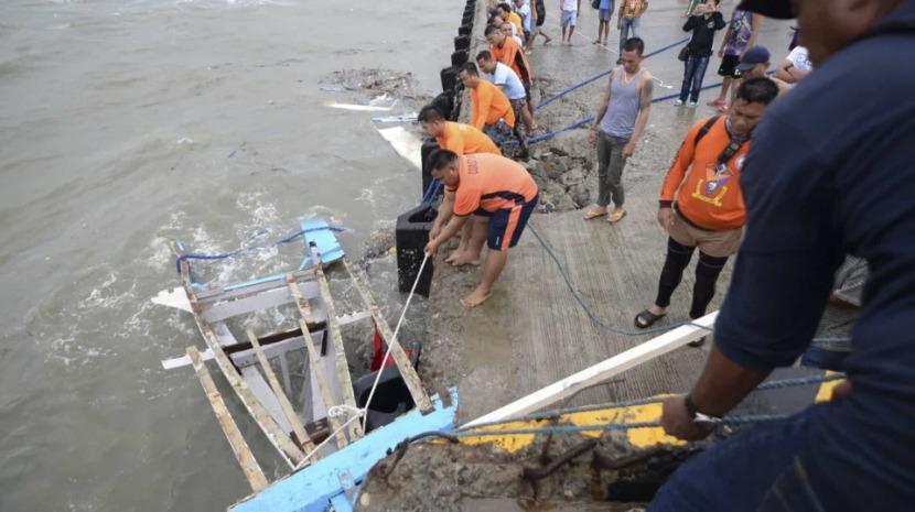 Pelo menos 25 mortos em naufrágios nas Filipinas devido ao mau tempo