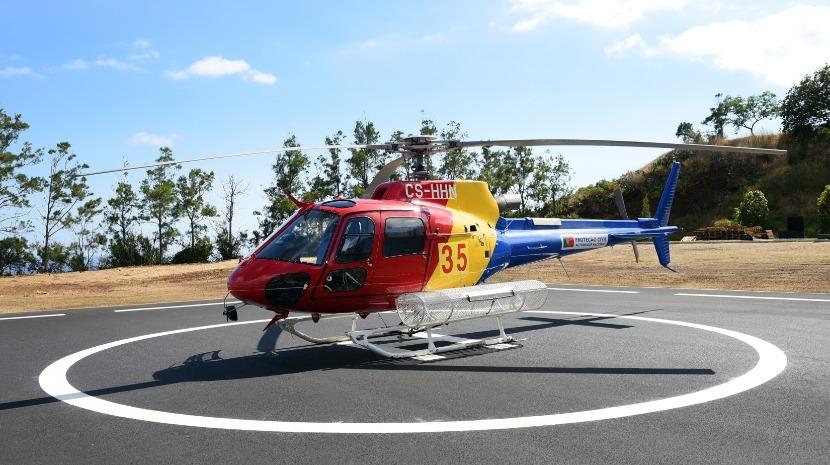 Helicóptero de combate a incêndios já foi usado 11 vezes na Madeira