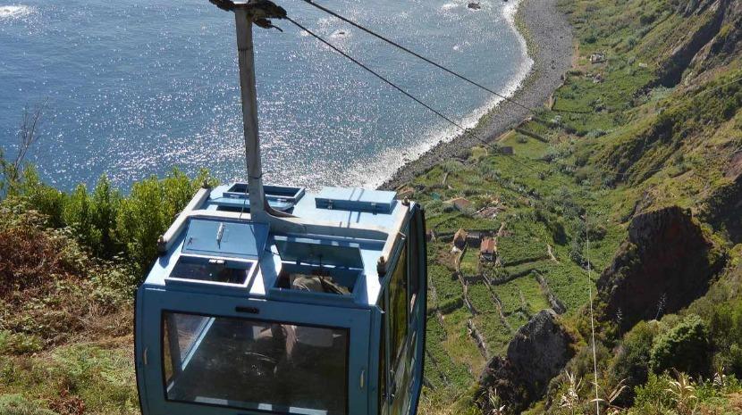 Teleférico da Rocha do Navio, em Santana, encerrado de 14 a 19 de agosto
