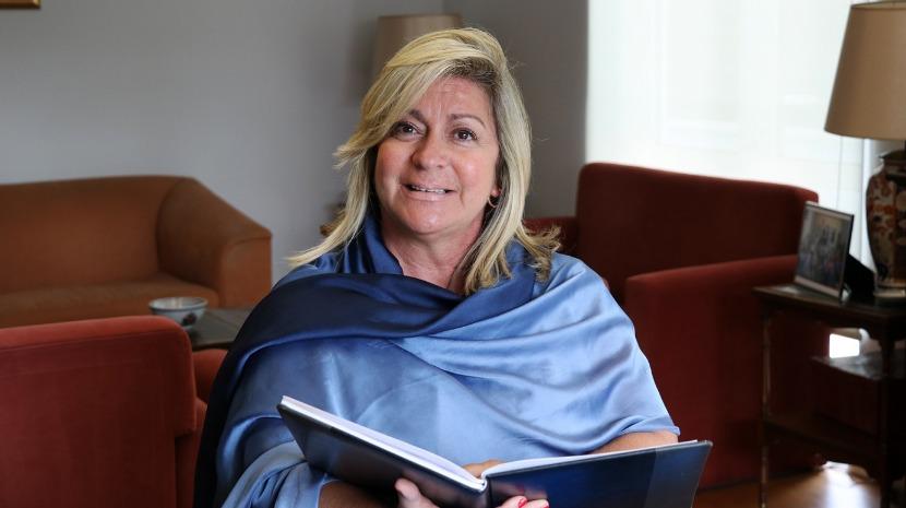 Rita Andrade visita projeto empreendedor em São Vicente