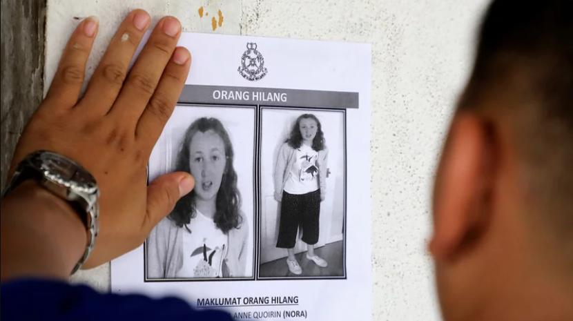 Polícia malaia sem indícios de crime na morte de adolescente franco-irlandesa