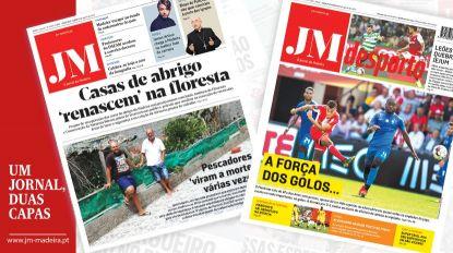 JM - Edição impressa: Casas de abrigo 'renascem' na floresta - Desporto: A força dos golos derrotou Marítimo