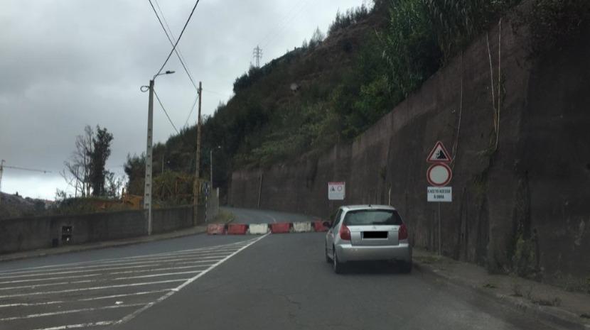 Ligação entre São Roque e Fundoa cortada ao trânsito