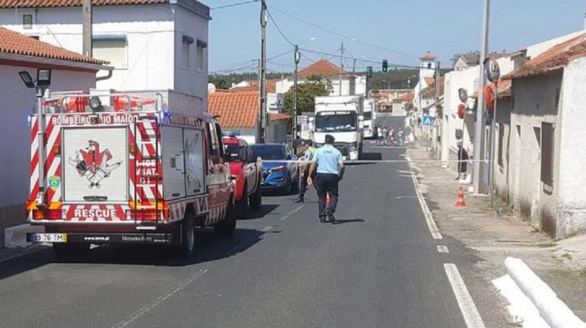 Criança de 3 anos faleceu na sequência de atropelamento em Rio Maior