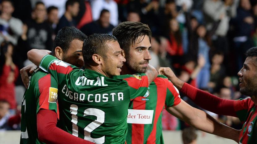 Rodrigo Pinho, Edgar Costa e René Santos entre os titulares do Marítimo frente ao Paços de Ferreira