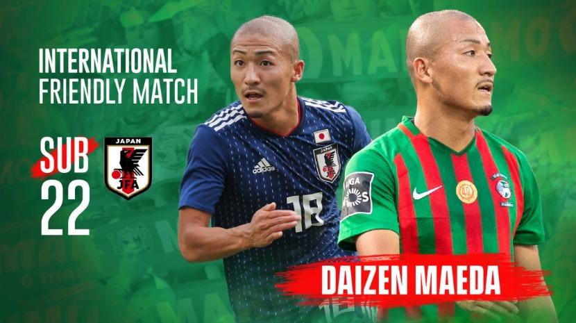 Verde-rubro Maeda convocado para sub-22 do Japão