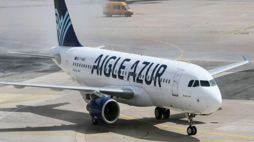 Companhia Aigle Azur, que voa para o Funchal, opera hoje pela última vez