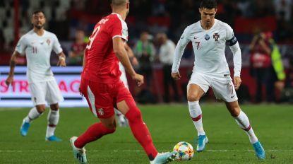 Portugal vence Sérvia ao intervalo