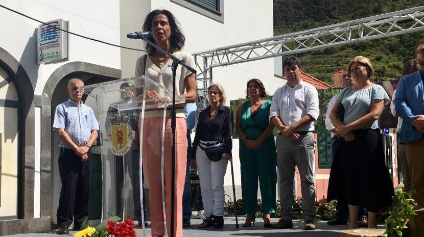 Paula Cabaço elogia Festa da Vinha e do Vinho de São Vicente