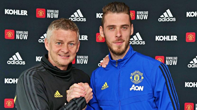 David De Gea prolonga contrato com Manchester United até 2023