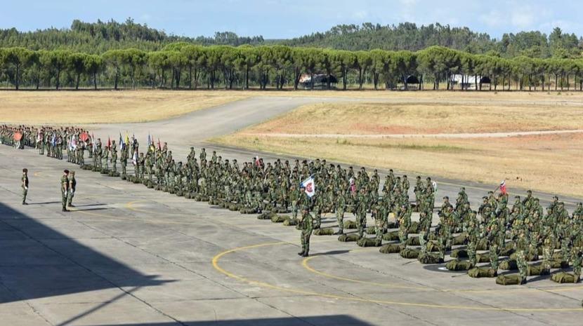 Zona Militar da Madeira representada no 26º aniversário do Comando das Forças Terrestres em Tancos