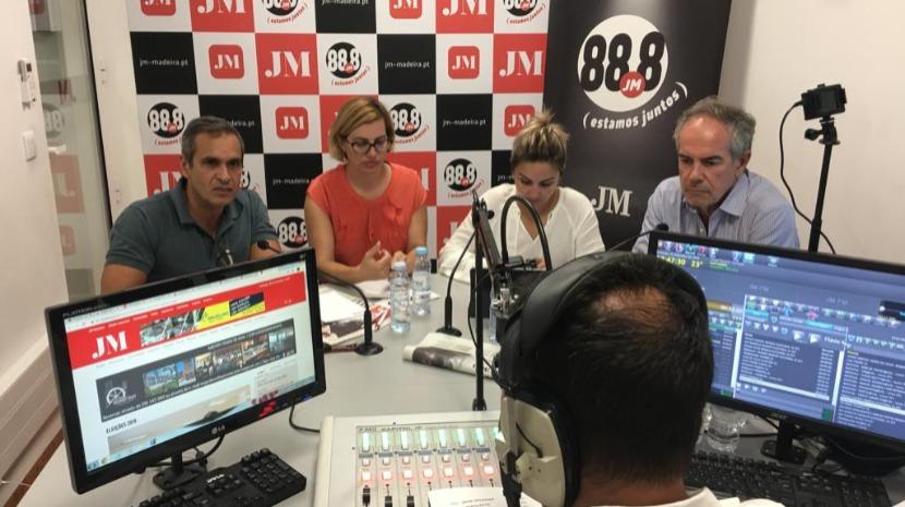 """PS está a bater-se taco a taco no Funchal"", diz Carlos Pereira"