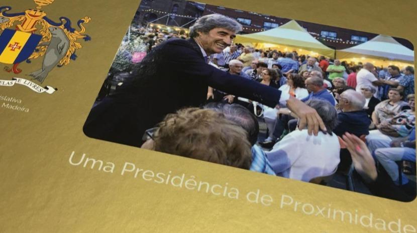 Livro 'Uma Presidência de Proximidade' assinala mandato na ALM