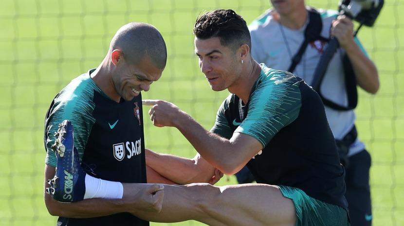 Ronaldo feliz por regressar a Portugal