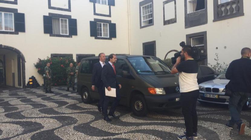 Albuquerque já está no Palácio de São Lourenço para entregar constituição do XIII Governo