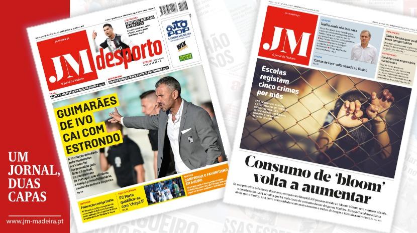 JM - Edição impressa: Consumo de 'bloom' volta a aumentar - Desporto: Guimarães de Ivo vai com estrondo