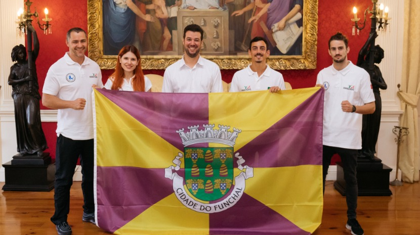 CMF recebeu atletas madeirenses que vão representar Portugal no Campeonato Europeu de Muay Thai