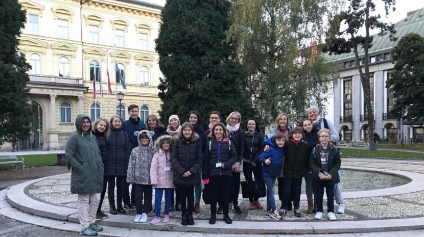 Escola do Arco da Calheta reforça experiência europeia na Eslovénia