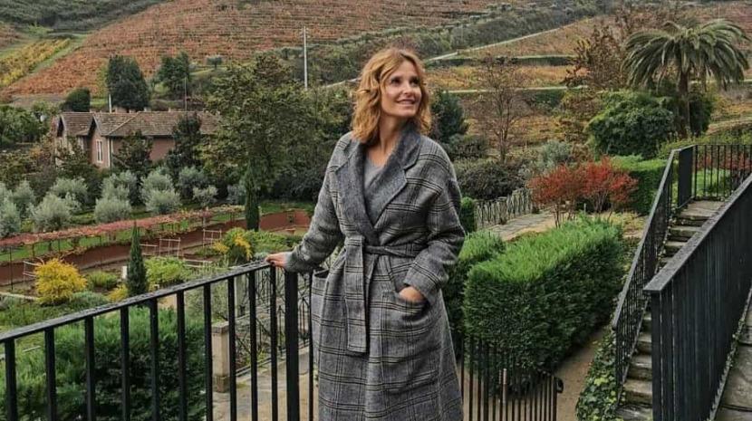 Pessoas: Cristina Ferreira em hotel de luxo no Douro