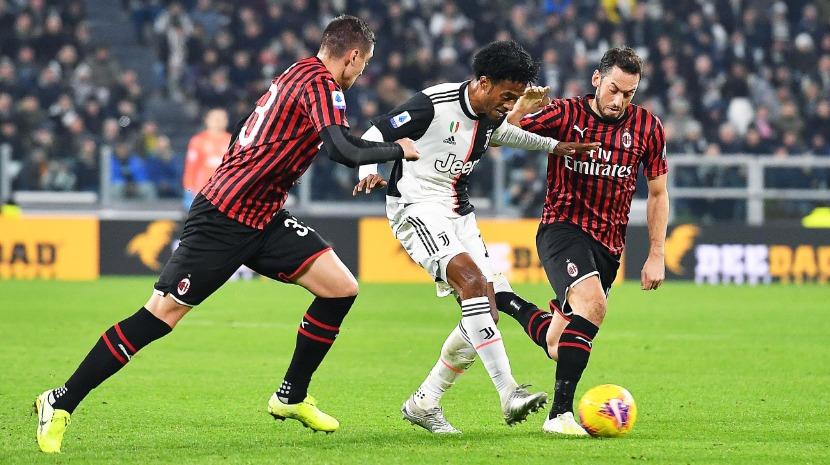 Juventus ganha o Milan no dia em que Ronaldo fez o seu jogo mil