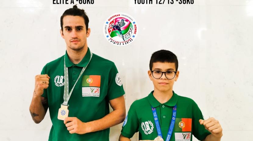 """Dois madeirenses são """"prata"""" e """"bronze"""" no Europeu de Muay Thai"""