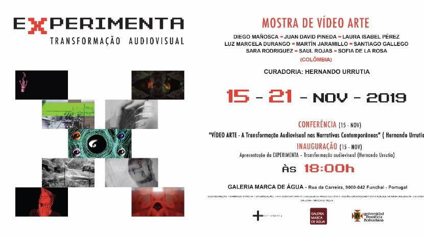 Galeria 'Marca de Água' inaugura 'EXPERIMENTA' uma conferência e mostra de vídeo arte