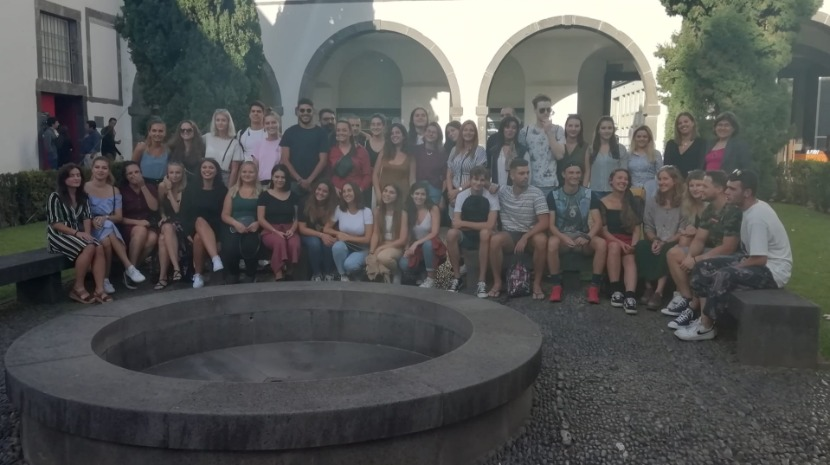 Sessão de boas-vindas aos 70 estudantes Erasmus que vão frequentar a UMa em 2019(2020