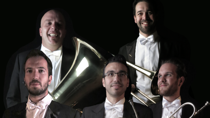 'Quinteto de Metais MadBrass5' no Teatro Municipal Baltazar Dias na próxima quarta