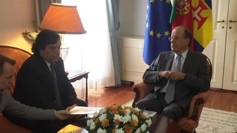 Ireneu Barreto recebeu subdiretor-geral da Reinserção e Serviços Prisionais