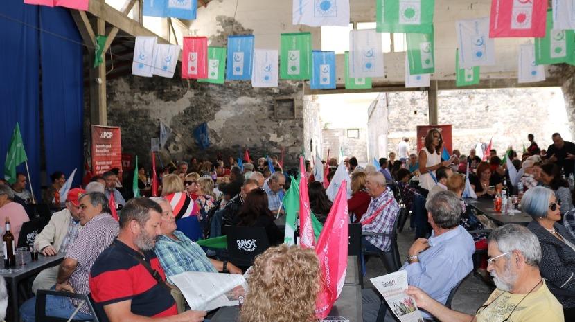 CDU promoveu Festa/Comício no Funchal