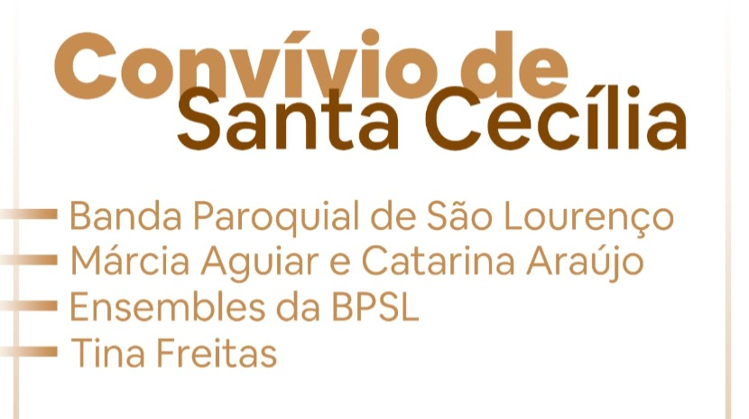 Camacha recebe convívio de Santa Cecília a 23 de novembro