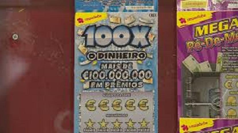 Homem ganha meio milhão de euros numa raspadinha em Almada