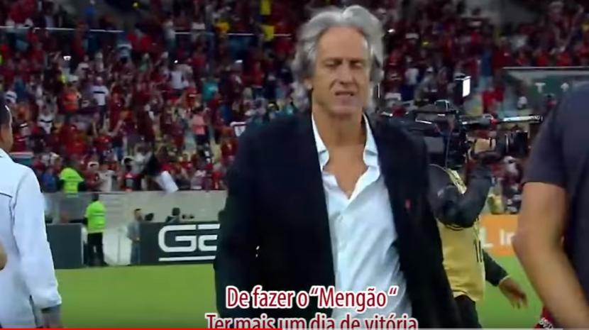 Videoclipe arrepiante de agradecimento ao 'Mister' do Flamengo: 'Obrigado Jesus'