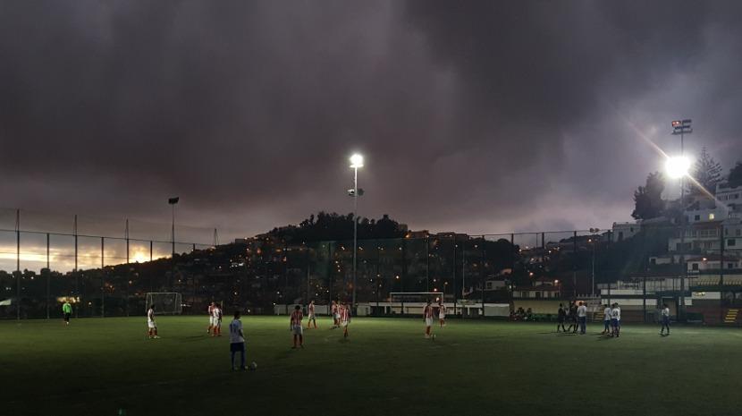 Partida entre Barreirense e Bairro da Argentina interrompida devido à falta de luz
