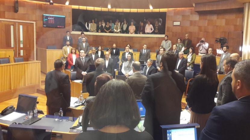 Assembleia cumpre minuto de silêncio por José Luís Rocha