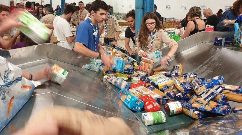 Banco Alimentar da Madeira recolheu 24.777 quilos de alimentos