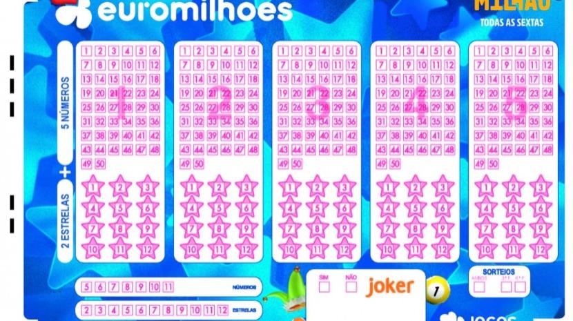 Confira os números do euromilhões desta sexta-feira