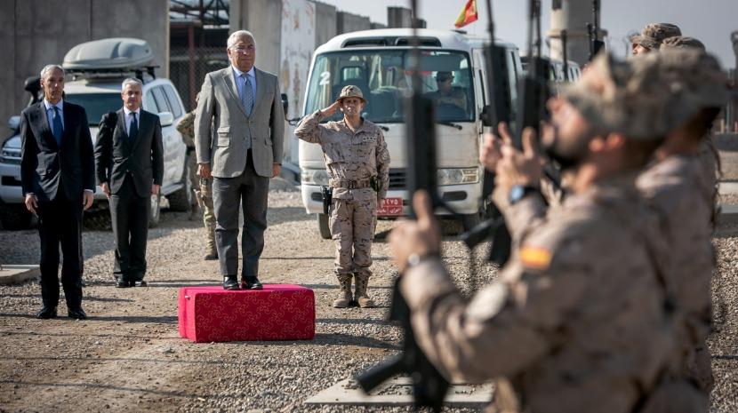Costa elogia no Iraque contributo dos militares portugueses para a segurança coletiva