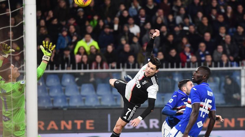 Salto de Ronaldo ultrapassou os 2 metros